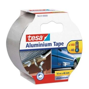 Aluminium tape 10m x 50mm Tesa 56223