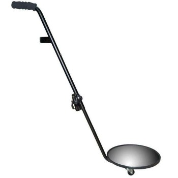 Vehicle control mirror Φ30 with extendable handle and wheels KTL-30