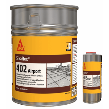 Sikaflex-402 Airport Tyre, self-leveling, 2-component polyurethane sealant for airport joints-532077