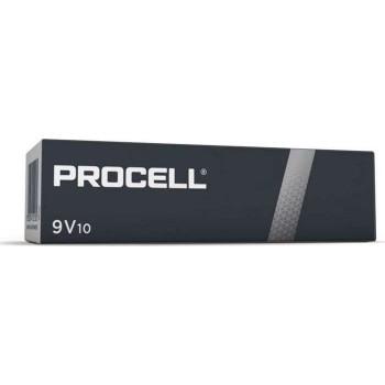 Duracell Procell MN1604 9V 6LR61 Alkaline Batteries (10 Pieces)