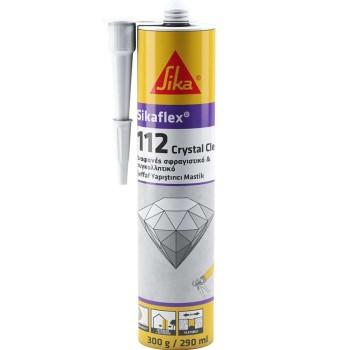 Sika Sikaflex® 112 Crystal Clear Sealant-Adhesive Transparent