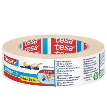 Paper tape for general use 50m x 30mm Tesa Standard 05087