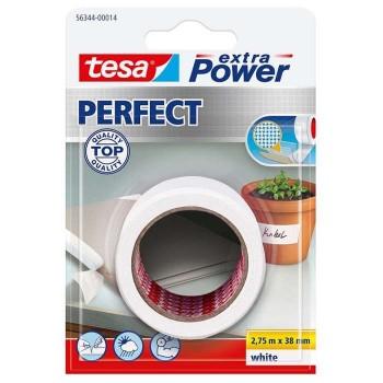 Fabric White Film 2, 75m x 38mm Tesa Extra Power Perfect 56344