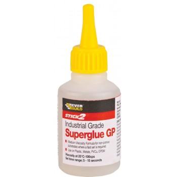 EVERBUILD - STICK2 SUPERGLUE / Κόλλα Στιγμής Κυανοακρυλική 20gr - 484651