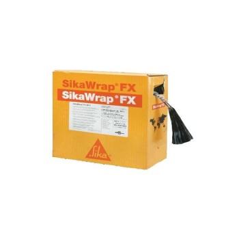 SikaWrap FX-50 C Ίνες άνθρακα για δομητικές συνδέσεις και αγκυρώσεις,Αγκύρια άνθρακα, 100mm Ρολό 25m - 465764