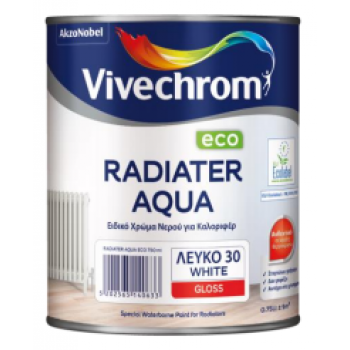 VIVECHROM - Radiater Aqua Eco / Special Water Color for Radiators White in Jalyster and Satin Finish - 03316