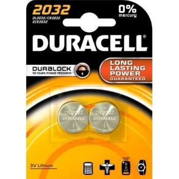 DURACELL - Lithium Batteries 3V Lithium 2pc - 2032