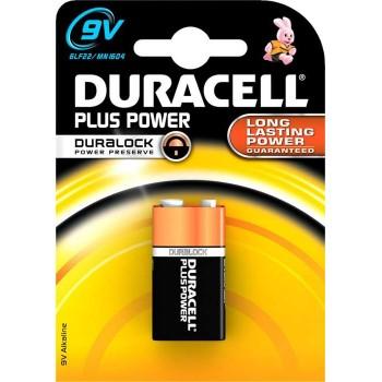 DURACELL - Μπαταρία Αλκαλική Plus Power 9V - 4565