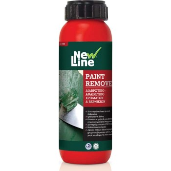 NEW LINE - PAINT REMOVER DIFFERENT-REMOVAL COLOR VERNICS 250ml - 90129