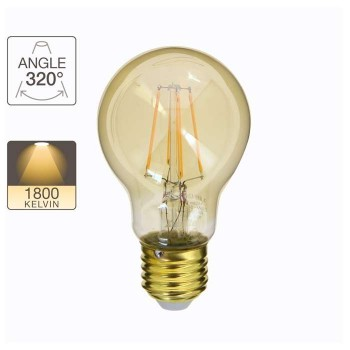 Xanlite Lamp Globos A60 Vintage 3.8W E27 320° 350LM 1800K - 416908