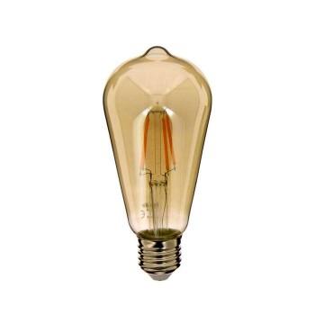 Xanlite LAMP LED Smoke Grey ST64 1800K 230Lumens - 419213