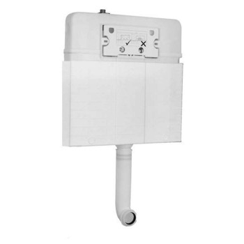 Wall Mounting Flush with Bricks For Classic Promicro Japar Basin with compatibility option depending on the plate - 5851029