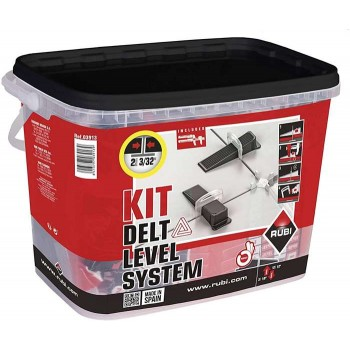 RUBI - KIT DELTA LEVELLING / SET DELTA ALFADIASMAT SYSTEM 1mm - 03913