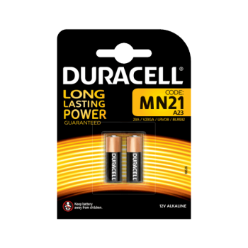 DURACELL - Batteries Alkaline MN21 2pc - 790150