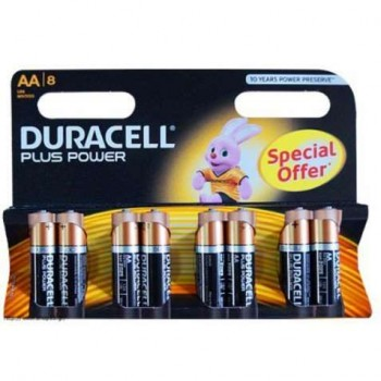 Duracell - Offer 5+3 Alkaline Batteries AA 1.5V - 7773