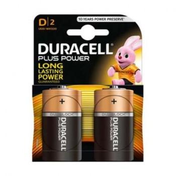 Duracell - Alkaline Batteries 2 TEM. D2- 4504