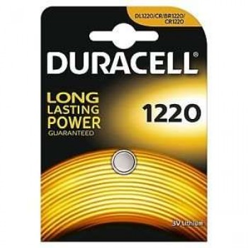 DURACELL - CR1220 3V LITHIUM BATTERY - 1220