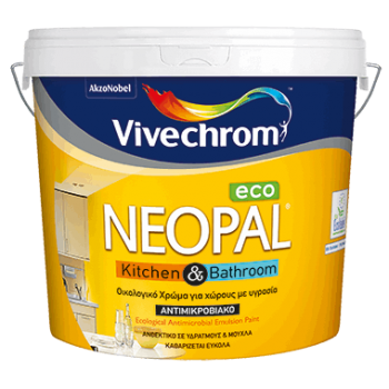 VIVECHROM - Neopal Kitchen & Bathroom Eco / Antimicrobial & Antifungal Eco Color for Places with Moisture - 22465