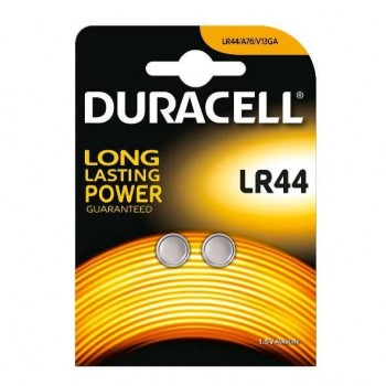 DURACELL - Batteries alkaline LR44 2pc - 790125