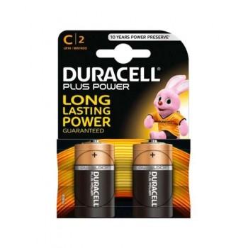 Duracell - Alkaline Batteries 1.5V 2 TEM. LR14 C2 - 4514