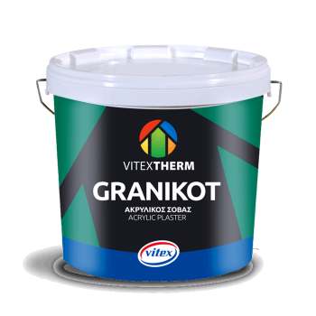 VITEXTHERM - Granikot Acrylic / High Quality Acrylic Plaster for FLAT Finish White - 15443