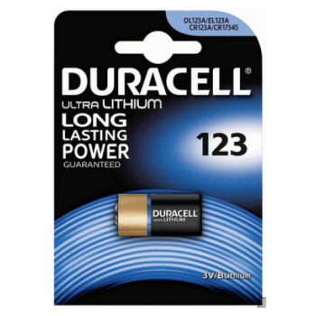 DURACELL - Lithium Battery CR123 - 790160