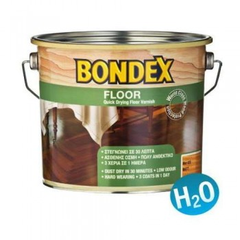 Bondex Quick Drying Floor Varnish - Colorless Water Impregnation Varnish for Wooden Floors - 94635