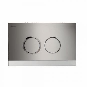 Teos chrome/satin handle plate - Japar - 58500068