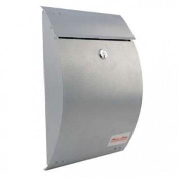 BORMANN SILVER MAILBOX BMB1000 300mm x 220mm x 70mm (022695)