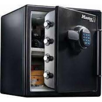 Χρηματοκιβώτιο πυρασφαλή με ηλεκτρονικό κωδικό MASTER LOCK LFW123FTC-Μαύρο 544012112