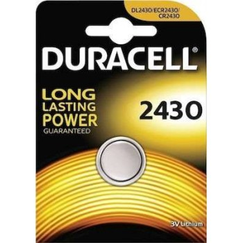 DURACELL - Lithium Battery 3V CR2430 - 2430