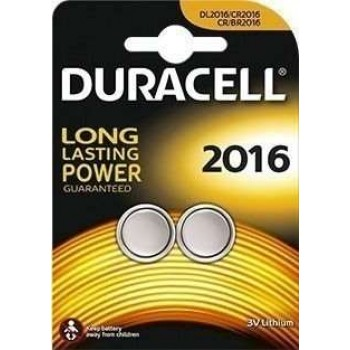DURACELL - Μπαταρίες Λιθίου Specialty Electronics 3V 2016 2τμ - 2016