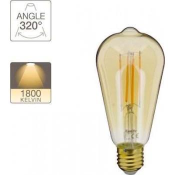 Xanlite Lamp ST64 Vintage 4W E27 320° 350LM 1800K - 416618