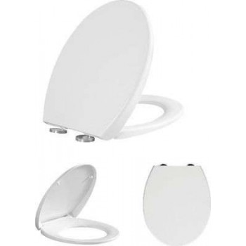 BASIN COVER SOFT CLOSE DUROPLAST GREAT MANOR AND LIFE DURATION BORMANN BTW1030 025771