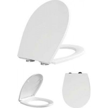 BASIN COVER SOFT CLOSE DUROPLAST GREAT MANOR AND LIFE DURATION BORMANN BTW1040 025788