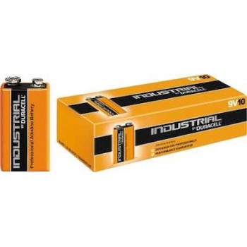 Duracell - Alkaline Battery 9V-6LF22 9V in 10-piece package - 4859