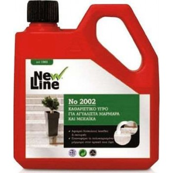 NEW LINE - Cleaning liquid for glassy marbles & mosaics No 2002 1L - 90003