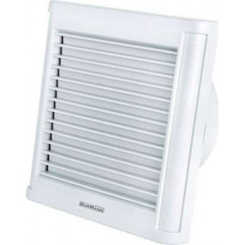 Bathroom Ventilator 125mm 8.7Watt Bormann BTW4300 - 027171