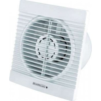 BORMANN - BTW4000 Bath Ventilator 8.1W F100mm In White Color - 027157