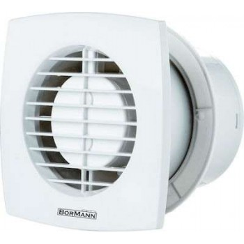 BORMANN - BTW4500 Bath Ventilator 9.5W F100mm In White Color - 027188