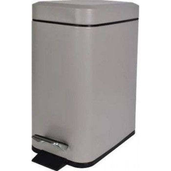 BORMANN - Basket Carton - Bathroom Bin 5Lt in White and Color Slim Type BTW2040 - 025856