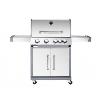 BORMANN - BBQ5050 Inox Gas Grill with Mademoisal Grill 4+1 Focal Points - 033240