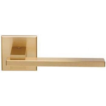 Setknob-door handle with Rosette series 366 term mat