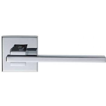 Setknob-door handle with rosette series 366 chrome