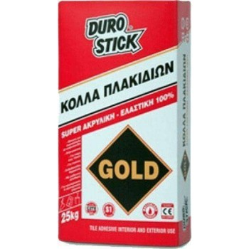 DuroStick Adhesive tile Acrylic and elastic Gold white 25Kg ΚPG25
