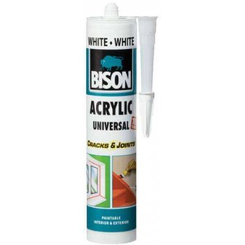 Bison-General purpose acrylic sealant-white 073310002