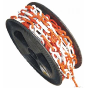 DOORADO Πλαστική αλυσίδα με λευκό και κόκκινο χρώμα 6mm - PARK-CH-1-25