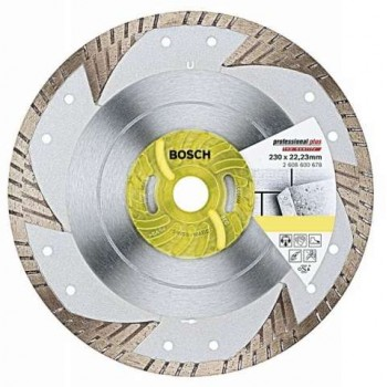 Bosch Diamond Cutting Disc Upp-T 230 X 22.23 X 2.5 X 9mm 2608600678