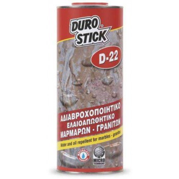 DUROSTICK D-22 waterproofs-Oil repellent marbles and granite