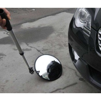 Vehicle control mirror Φ22 with extendable handle and wheel KTL-22